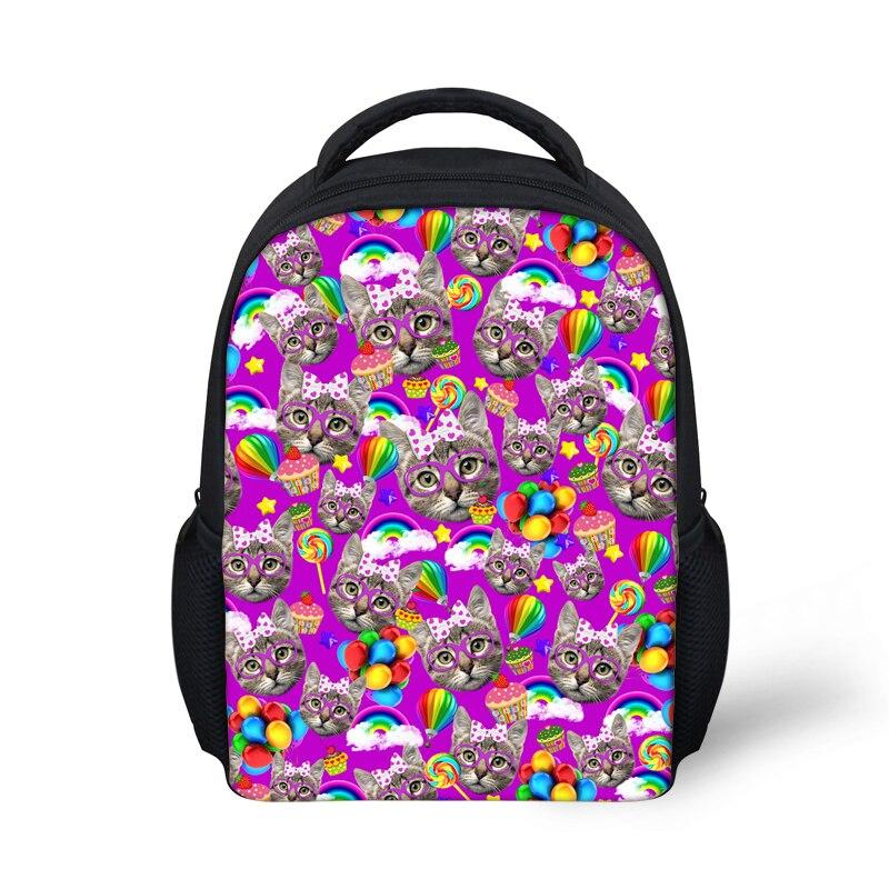 Mochilas Escolares Children School Bags Cute Kitty Cat Kids Toddler Schoolbags Mochila Boloas Infantil Small Shoulder Book Bags