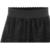 2016 Nuevas Mujeres Sexy de Encaje Faldas de Moda Sección Larga Jupe Falda Borla Negro Falda Corta