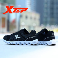 XTEP Brand Professional Running Shoes For Men LightWeight Air Mesh Breathable Men S Shoes Athletic Sport