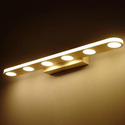 modern led bathroom mirror light acrylic led mirror light for ...