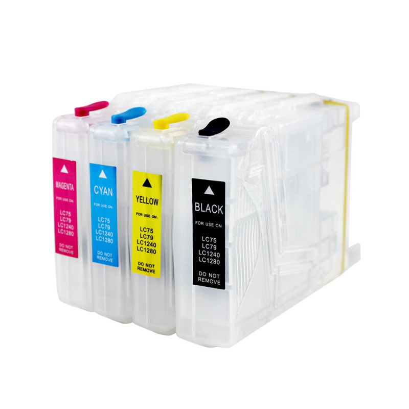 LC73 LC71 LC75 LC77 LC79 Refillable Ink Cartridge for Brother <font><b>LC1280</b></font> MFC-J6510DW MFC-J6710 MFC-J6910DW MFC-J6710DW DCP-J525W image