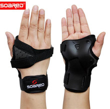 SOARED Skiing Wrist Support Hand Protection Ski Palm Roller Snowboarding Guard