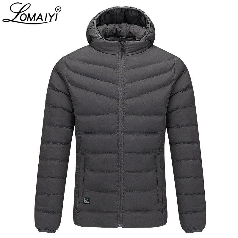 Men Clothes 2019 Warm Wool Lapel Winter Jacket Men Fashion Slim Winter Coat Men Long Sleeve