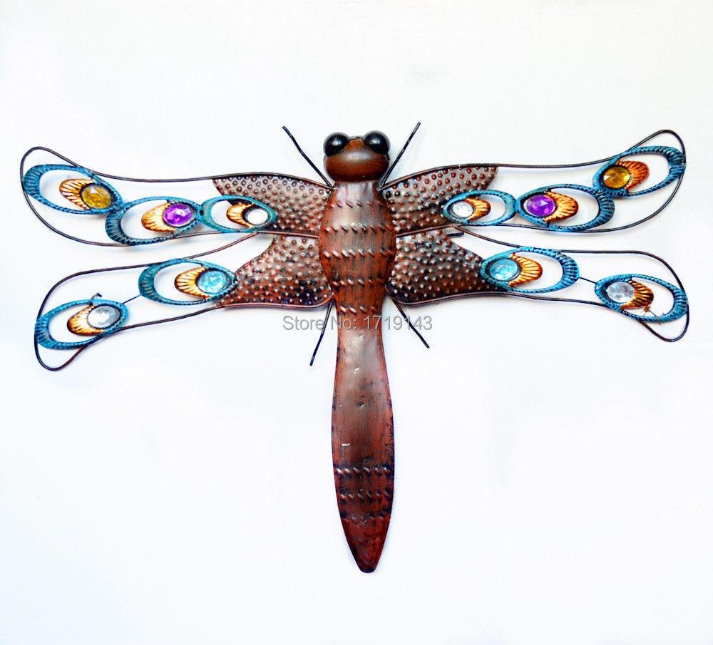 Metal Wall Art Butterfly Lizard Dragonfly Gecko Home Garden Decor On  Aliexpress.com | Alibaba Group