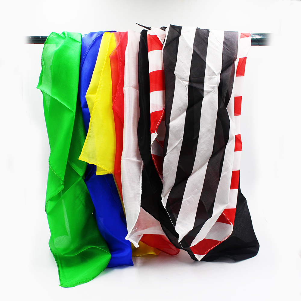 Appearing Silks Scarves Stage Magic Tricks Props Toys Professional Magician