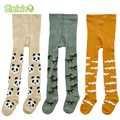 3Pair/lot Kids Toddler Tights Kawaii Boys Girls Tights Soft Cotton Baby Children Stocking Pantyhose Infants Clothing For 0-3 Y