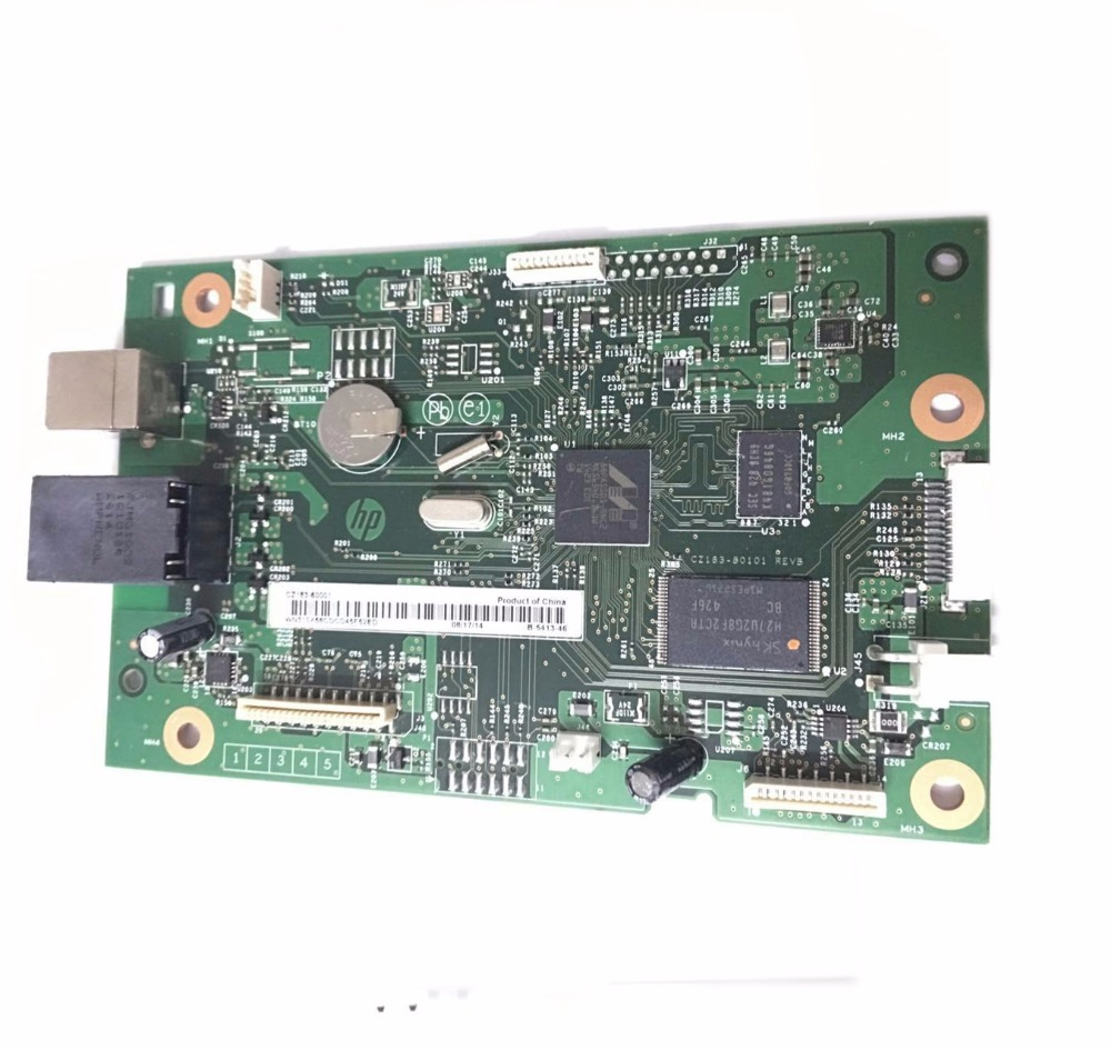 einkshop CZ165-60001 Used Formatter PCA ASSY Formatter Board logic Main Board MainBoard mother board for HP M177 177 177FW 177FN laser printer main board for hp m176 m176n m177 m177fw 177 177fw 176 176n hp176 hp176n formatter board mainboard logic board