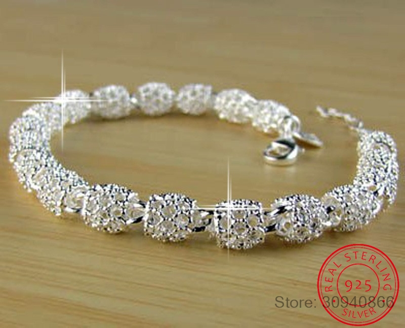 LEKANI New Fashion Charm Bracelets For Women Luxury Women's 925 Sterling Silver Wedding Bracelets & Bangles Fine Jewelry