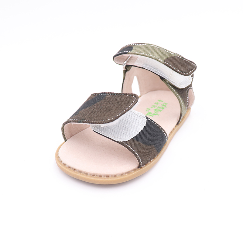 Image 3 - TipsieToes 2020 Summer Kids Shoes Brand Closed Toe Toddler Boys Sandals Barefoot Shoes Kids SandalsSandals   -