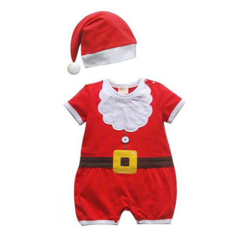 Christmas New Children Clothing Baby Boys and Girls Christmas Dress Santa Claus Costumes Baby Girl's Dress