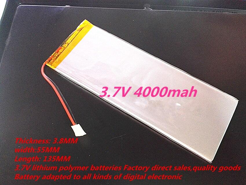 Tablet-zubehör 3855135 3,7 V 4000 Mah 3955136 4055135 Lithium-tablet Polymer Batterie Mit Schutz Bord Für Pda Tablet Pcs Digital Produkte