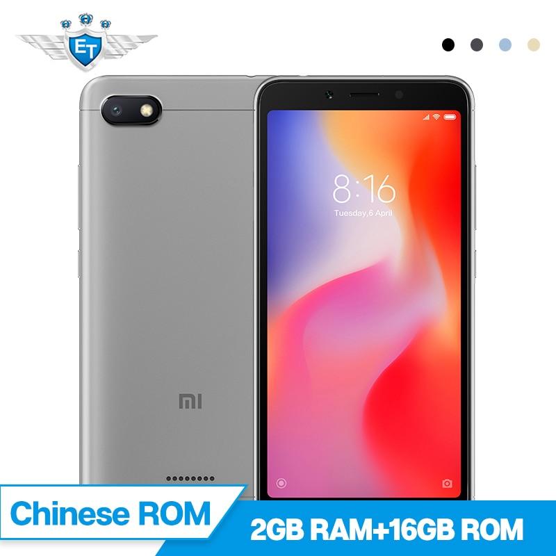 Pre-sale Xiaomi Redmi 6A 6 A 2GB 16GB Smartphone 5.45'' Full Screen 12nm Helio A22 Quad Core 13MP Camera AI Face Unlock MIUI 9