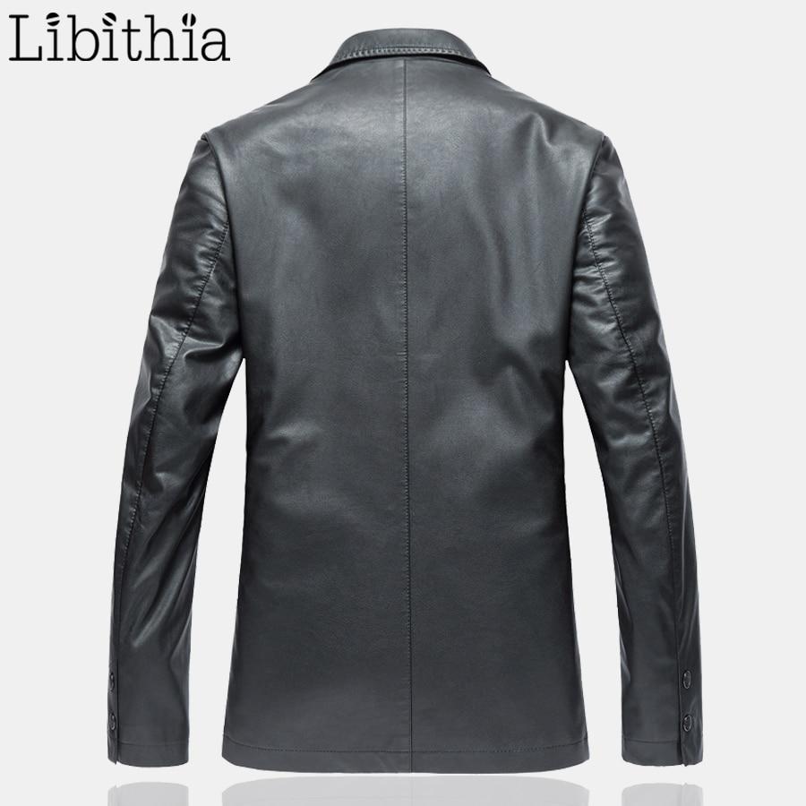 Chaquetas dark Abrigos Marrón Slim Cuero Casual F084 Hombres Pu Primavera Fit Black Lujo Brown Smart Negro Oscuro Px8IxXqwZ