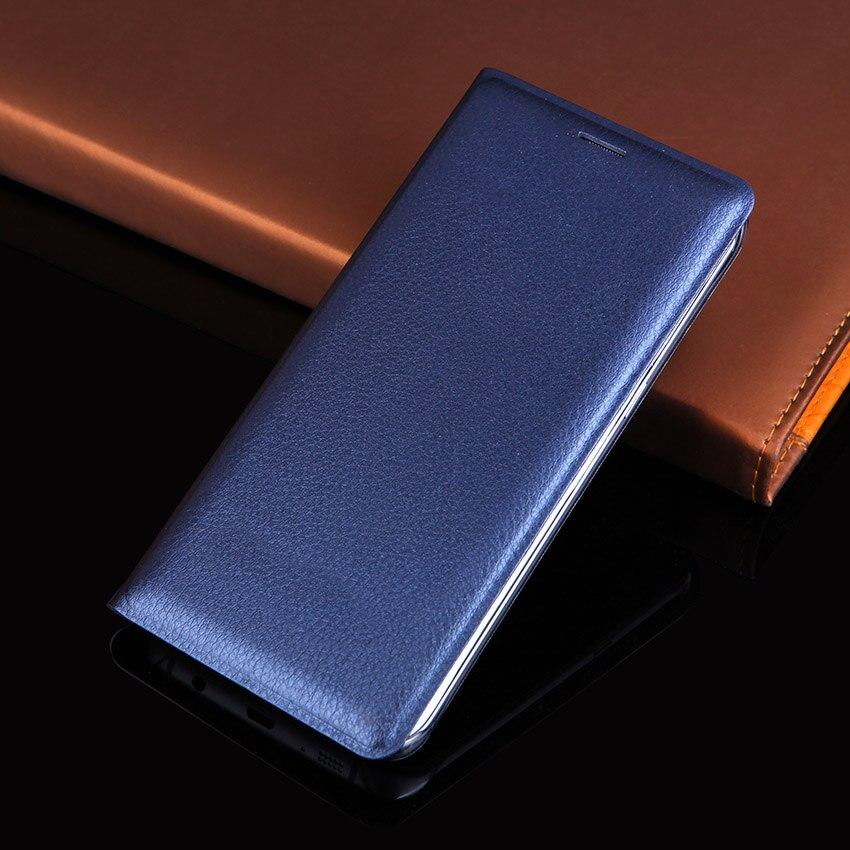 Samsung Galaxy S6 Edge G925 үшін былғарыдан - Мобильді телефондарға арналған аксессуарлар мен бөлшектер - фото 1