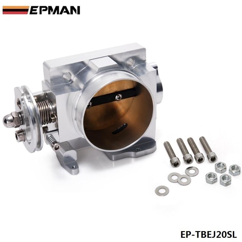 Для SUBARU GDB WRX STI версии 7 8 EJ20 Turbo 2001-2005 70 мм Алюминий Turbo Дроссельной заслонки ep-tbej20sl