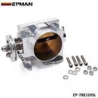 FOR SUBARU GDB WRX STI VERSION 7 8 EJ20 TURBO 2001-2005 70mm Aluminum Turbo Throttle Body EP-TBEJ20SL