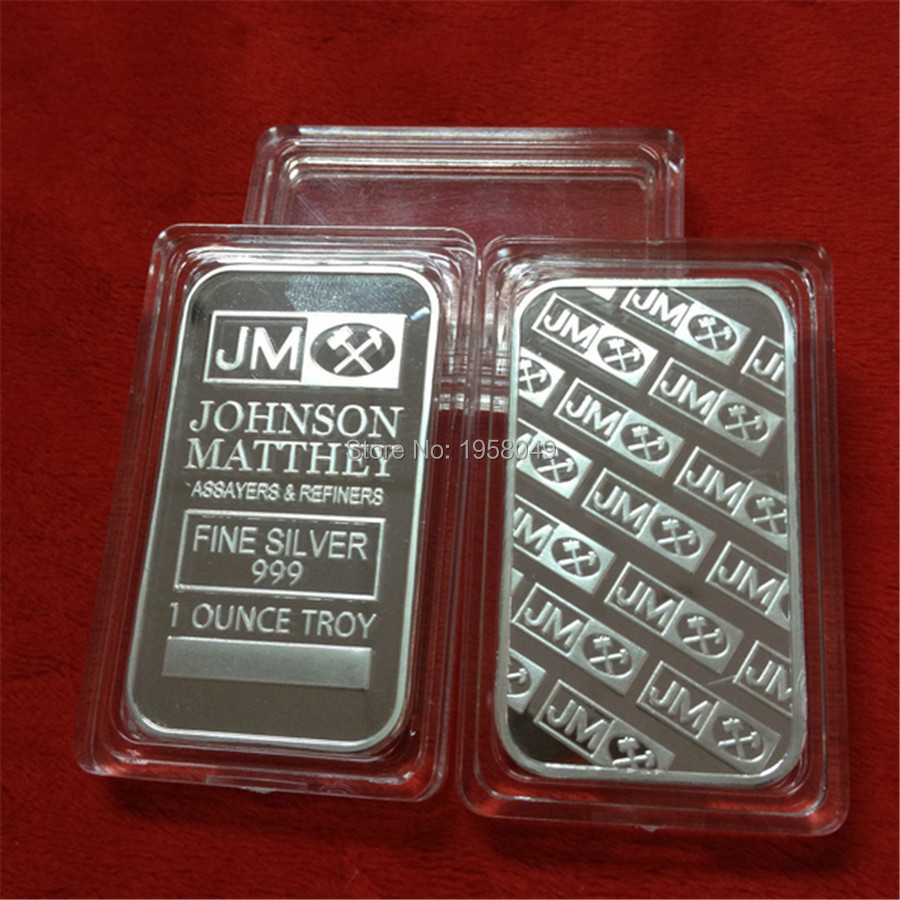 Buy Sample Order 1 Oz Jm Silver Bar Johnson Liberty Walking 1oz