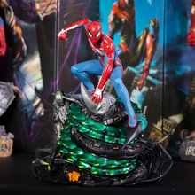 New Arrival Marvel's Spider-Man PS4 Game Spiderman Collectors Edition PVC Figure Collectible Model Toy in retail box цена