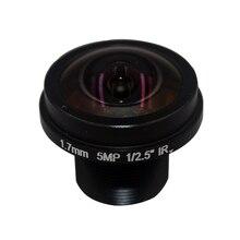 Cameye HD  Fisheye  cctv lens 5MP 1.7MM M12*0.5  Mount 1/2.5  F2.0  180 degree for security CCTV cameras
