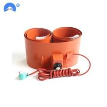 250x1740 мм 2000 Вт силиконовая резина 200л барабан нагревательный ремень