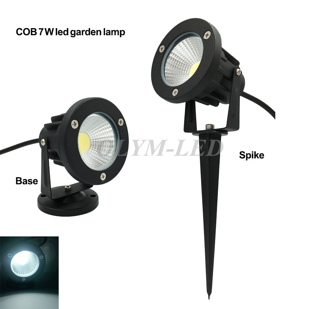 3W 5W 7W 10W Outdoor Garden Landscape Light 220V 110V 12V LED Lawn Lamp COB Waterproof