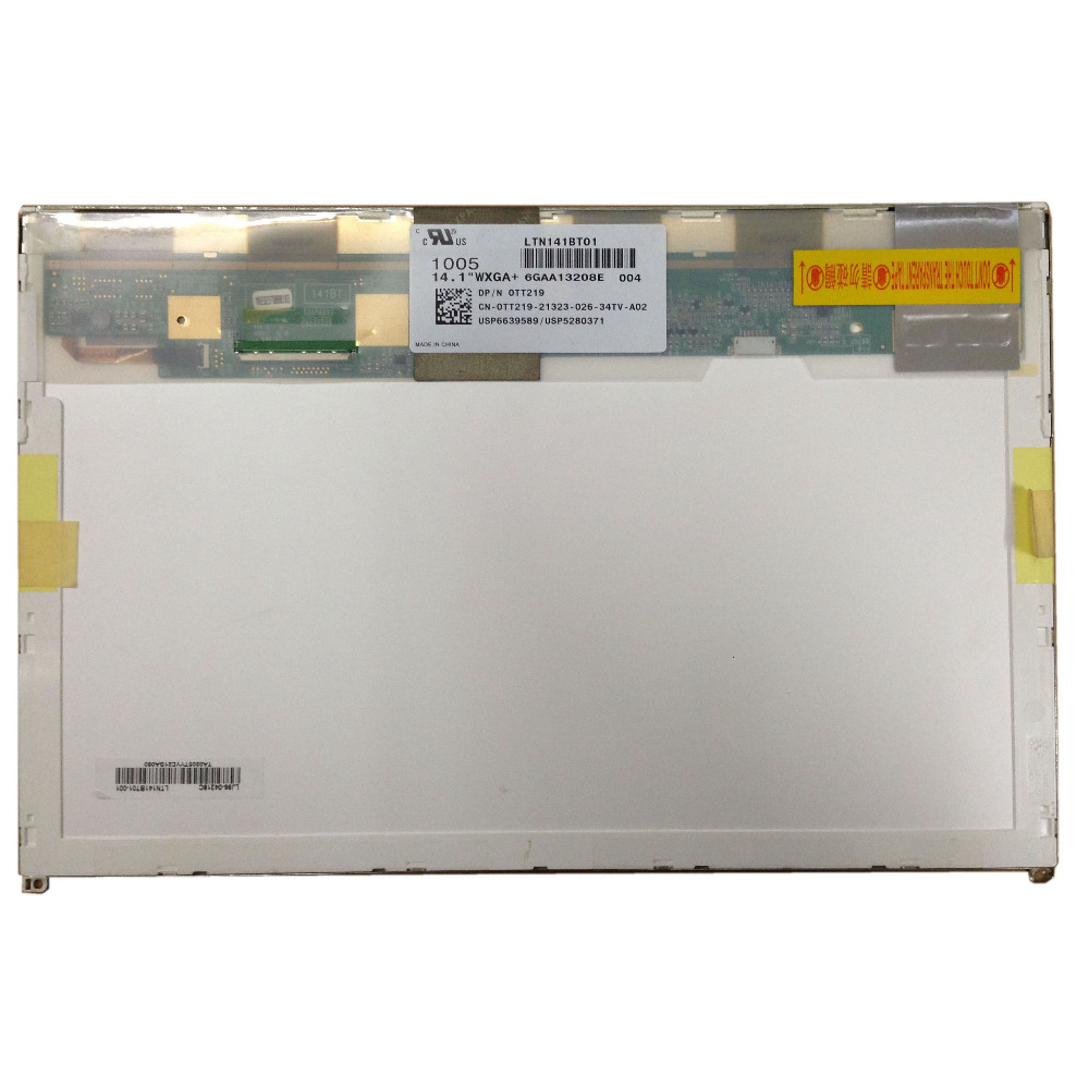 LALAWIN LTN141BT01 004 002 LP141WP2-TLA1 (TL)(A1) TLA2 FOR <font><b>DELL</b></font> E6400 <font><b>1435</b></font> notebook laptop lcd screen 50pins 1440*900 image