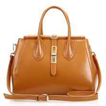 New style women genuine leather handbags European and American Style  Top grade shoulder bags