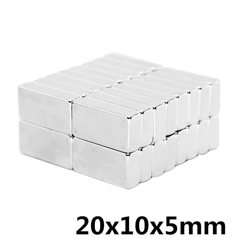 5pcs  20x10x5 mm N35 Strong Square NdFeB Rare Earth Magnet 20*10*5 mm Neodymium Magnets 20mm x 10mm x 5mm5pcs  20x10x5 mm N35 Strong Square NdFeB Rare Earth Magnet 20*10*5 mm Neodymium Magnets 20mm x 10mm x 5mm