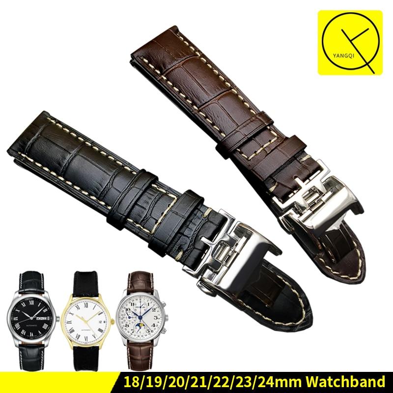 info pour 327a2 6eb76 bracelet montre cuir longines