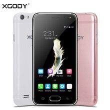 Xgody G11 3 г 4.5 дюймов смартфон Android 5.1 768 МБ Оперативная память 8 ГБ Встроенная память MTK6580 4 ядра 5.0MP GPS двойной сим-карты сотовых телефонов разблокирована