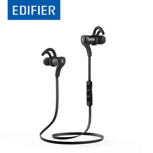 EDIFIER W288BT Bluetooth 4.0 Earphone In-Ear CVC Noise Canceling IP54 Waterproof Stereo Earphones Combined NFC With Mic(China)