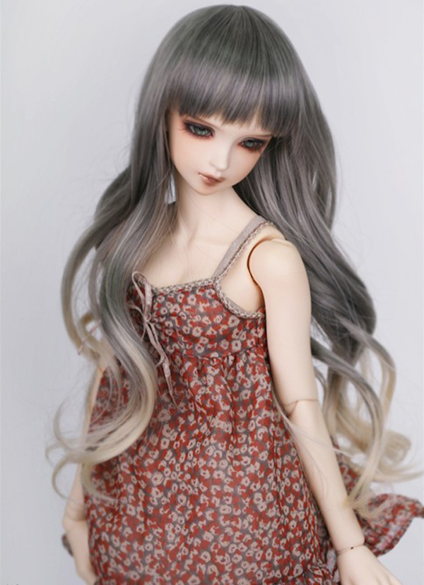 1/4 7-8 New Arrival Bjd SD Doll Wig High Temperature Wire Long Fashion Wavy For BJD Super Dollfile Hair Wig free shipping newest 1 3 1 4 1 6 bjd wig high temperature long wire bjd wig msd sd yosd for bjd doll