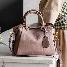 Натуральная кожа Сумочка Vogue звезда моды 100% натуральная кожа Для женщин сумка дамы сумки на ремне модные сумки ведро