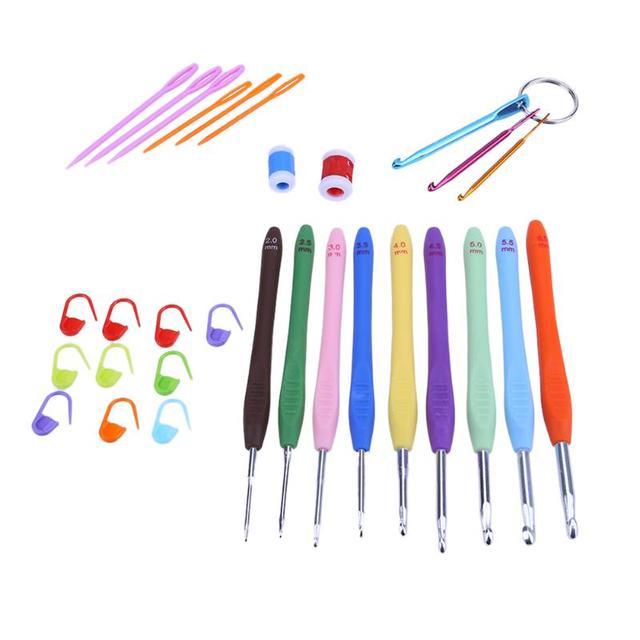 1 Satz Hause Stricken Diy Strickwerkzeuge Griff Eingestellt Häkeln