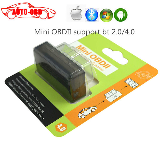 OBDII Code Scanner Super Mini OBD2 ELM 327 V2.1 Bluetooth 2.0 / 4.0 Android / Windows / IOS / Saipan Car Diagnostic Scan Tool