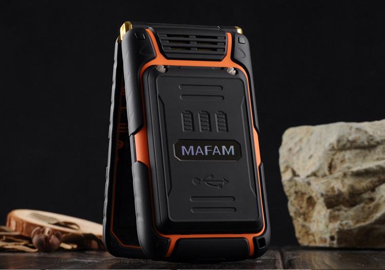 MAFAM Big Screen พลาสติกอาวุโสโทรศัพท์มือถือโทรศัพท์ 18