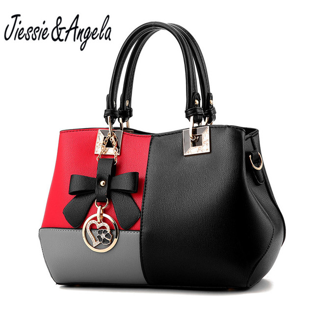 Jiessie Angela Lady S Luxury Bag Women Tote Handbag Famous Brand Leather Bags 2017 Fashion