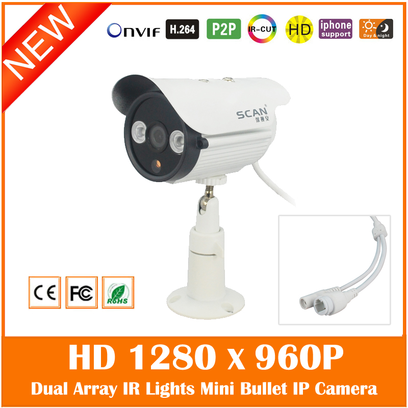 Hd 960p Bullet Ip Camera Outdoor Waterproof Webcam Mini Surveillance Security Infrared Night Vision Cmos Freeshipping Hot Sale new in stock dd105n16k