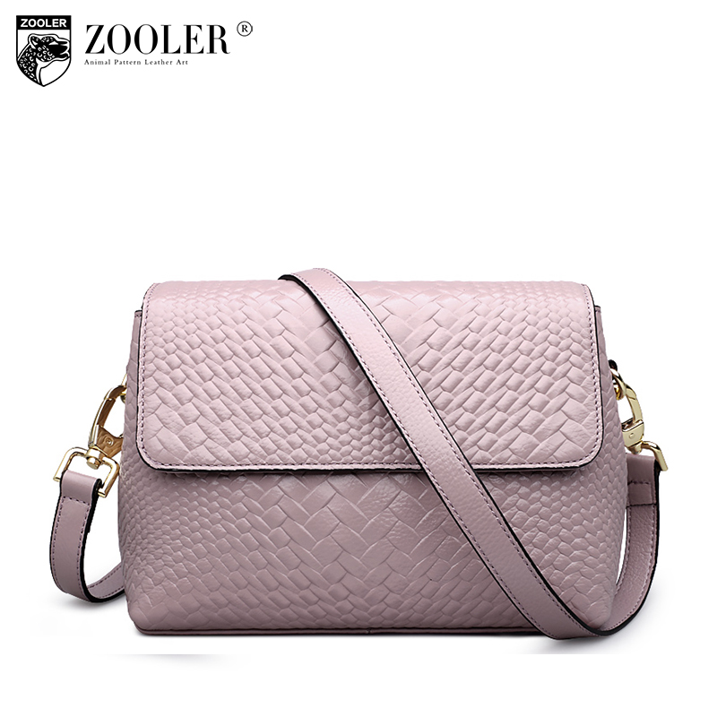 ZOOLER Genuine leather bag luxury women bags designer leather crossbody bags for women ladies messenger shoulder bags 2017 #6152 zooler genuine leather bags for women luxury handbags women bags designer crossbody bags for women shoulder messenger bag h128