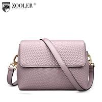 ZOOLER Bags Handbags Women Famous Brand Messenger Bag For Lady Genuine Leather Bag Cross Body China
