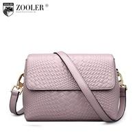 ZOOLER Bags Handbags Women Famous Brand Messenger Bag For Lady Genuine Leather Bag Cross Body China