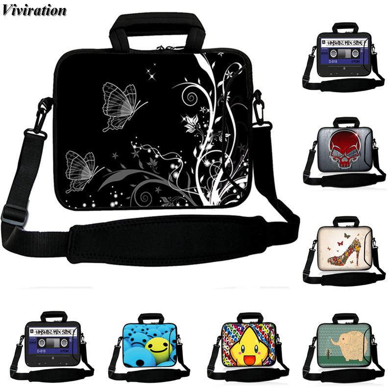 Viviration Women Neoprene Case 9.6 9.7 10.5 10.2 10.1 Inch Tablet Cover Casual Fashion Messenger Tablet Bag 10 Inch Sleeve Pouch