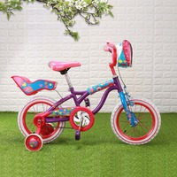 Bike 14 Super Little Girl Pattern Dots Kid Bicycle For Girl Purple Pink Kids Cycling Bike