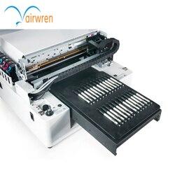 Najlepsza cena najnowszy ploter płaski LED drewna drukarka UV firmy