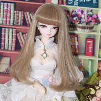 free shipping forturn days 1/4 bjd 45cm doll sweet girl only outfit necklace legging underwear lolita dress