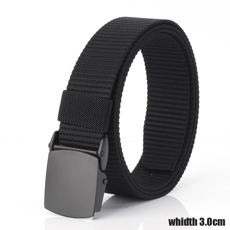 Width 3cm Nylon Metal Tactical Canvas Men Belt High Quality Military Fans Tactical Luxury Belt Free To Adjust  Male Strap 31
