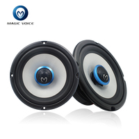 magic voice brand 4ohms high end 2 way car speaker audio 6.5inch MO C6501 for 1 Pair