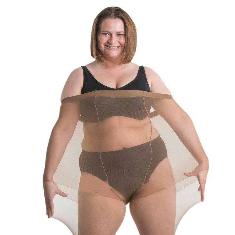 HSS 2019 Heißer Sexy Extra Große Strumpfhosen Frauen Thin Semi Sheer Strumpfhosen Volle Fuß Dünne Höschen Sommer Lange Strümpfe Für 100KG