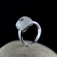 S925 Silver new listing of women's classic style open loop