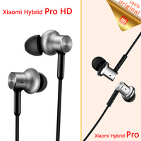 New Original Xiaomi Hybrid Pro Earphones Circle Iron Control With MIC Xiaomi Mi In Ear Headphones